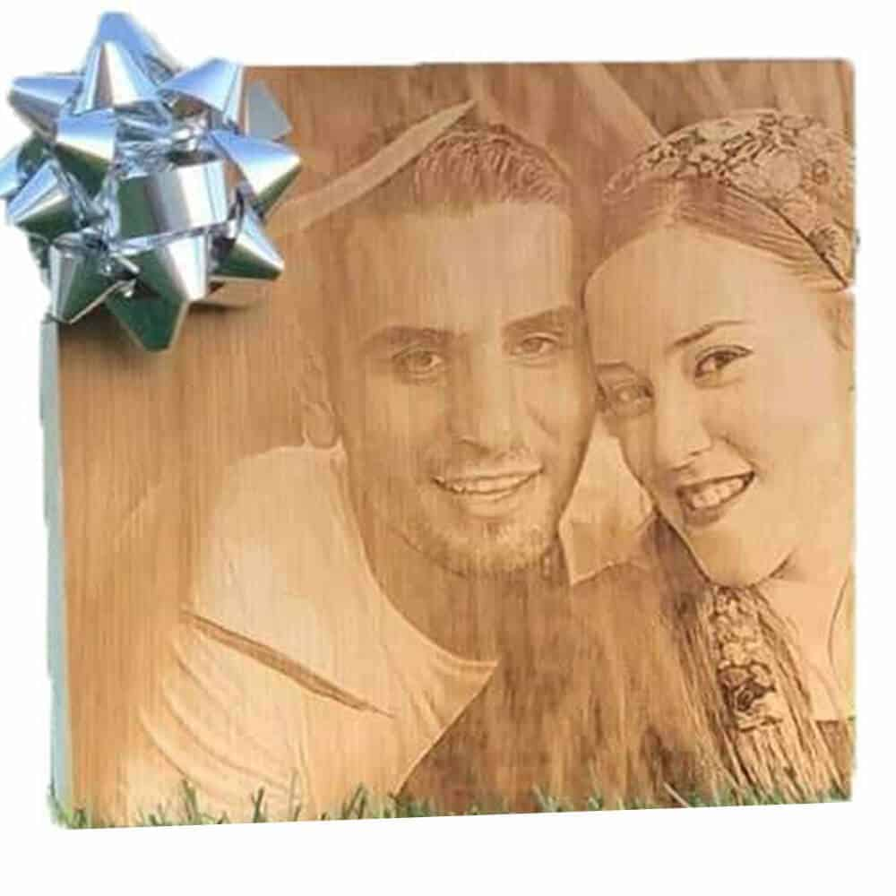 בלוק עץ עם תמונה-1