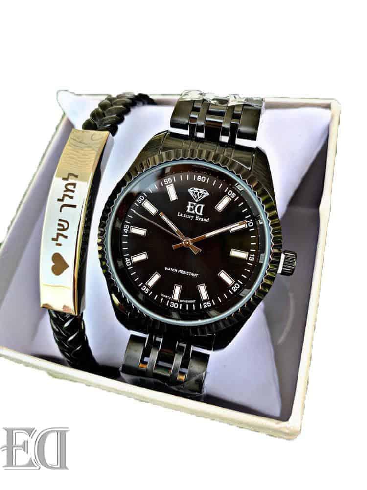 גאדג'טים ומתנות שעון ED שחור-3