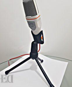 גאדג'טים מיקרופון לבן