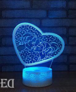 גאדג'טים מתנות מנורות לילה אוהבים