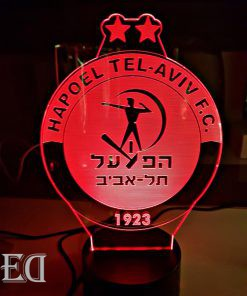 גאדג'טים מתנות מנורות לילה הפועל תל אביב
