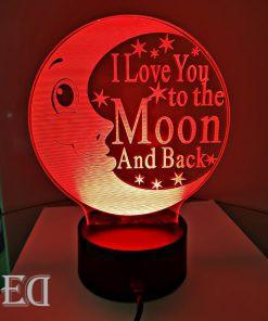 גאדג'טים מתנות מנורות לילה ירח