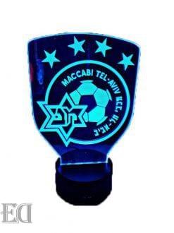 גאדגטים-מתנות-מנורות-לילה-מכבי-תל-אביב-כחול-510x681