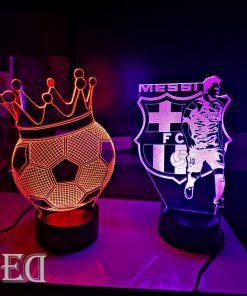 גאדג'טים מתנות מנורות לילה מסי וכדור