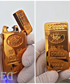 גאדג'ט מצית חשמלי זהב ברק-3