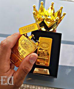 גאדג'ט מצית חשמלי זהב ברק-4