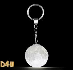 מחזיק-מפתחות-מעוצב ירח-תלת-מימד-מתנות-4