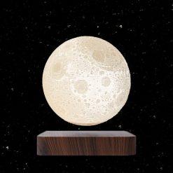 מנורת ירח תלת מימד מרחפת באוויר-1