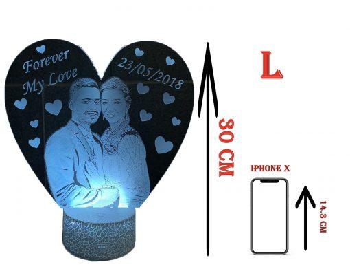 מנורת לילה וריאציות 30cm