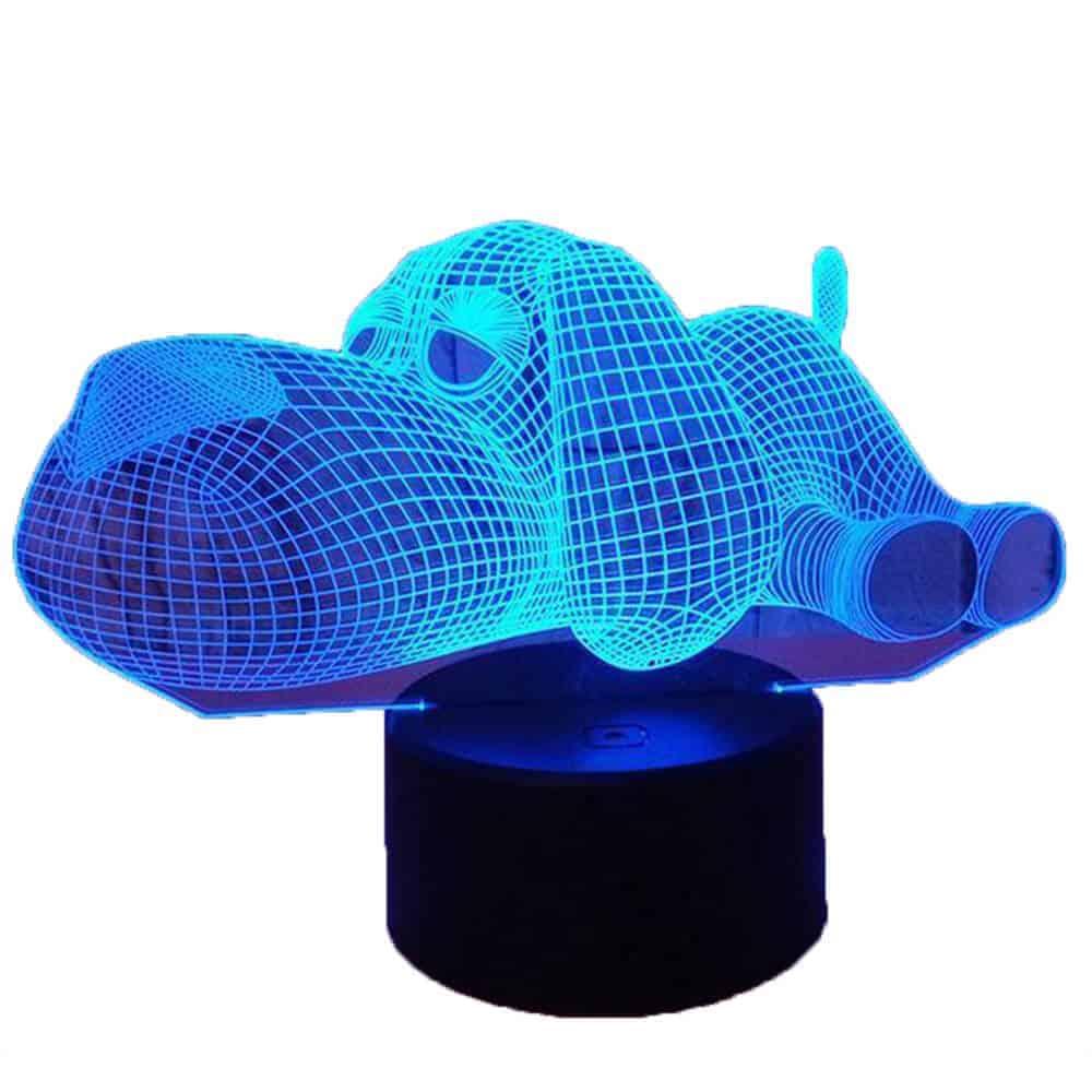 מנורת לילה כלב-7