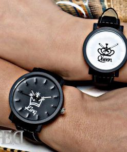 מתנה זוג שעונים מלך מלכה