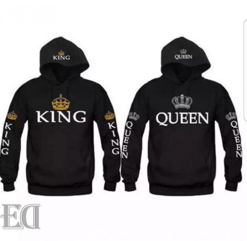 מתנה חולצות קינג קווין ארוכות-3