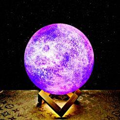 מתנה מנורת ירח תלת מימד גלקסיה 2