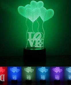 מתנות גאדג'טים מנורת לילה בלונים-5