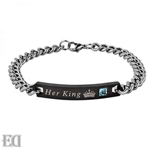 מתנות זוג צמידים קינג קווין-5