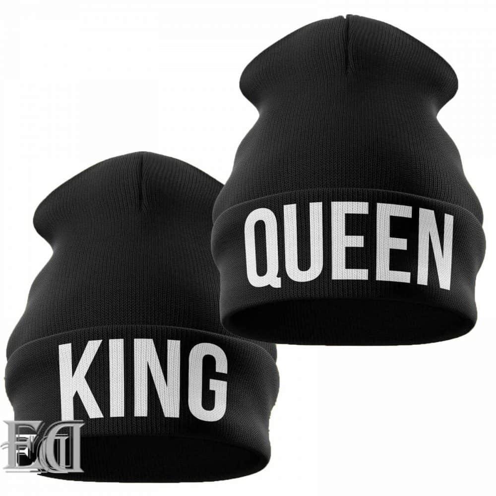 מתנות-כובע-צמר-קווין-קינג-שחור-5